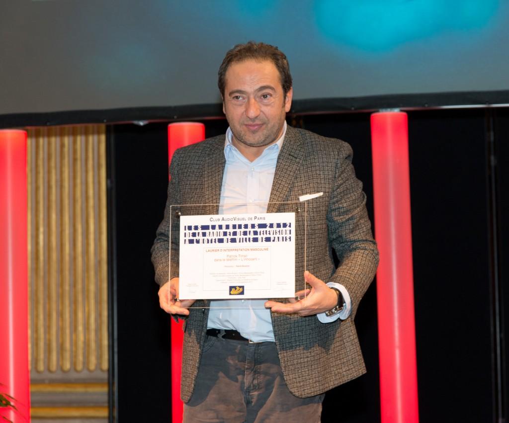 Patrick Timsit - Les Lauriers de l'Audiovisuel 2013