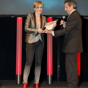 Patricia Kaas et Michel Creton - Les Lauriers de l'Audiovisuel 2013