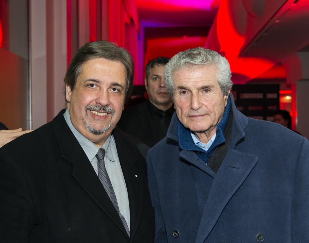 Jacques-Marie Ponthiaux et Claude Lelouche - Assemblée des Médias 2014