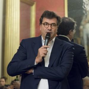 Club Audio Visuel de Paris, Dîner-débat, Sénat, le 9 décembre 2015, Invité d'honneur: Carlo d'Asaro Biondo